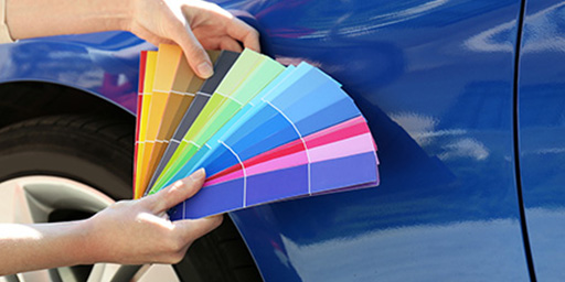 رنگ-اتومبیلی